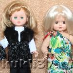 Трикотажные сумочки для куклы